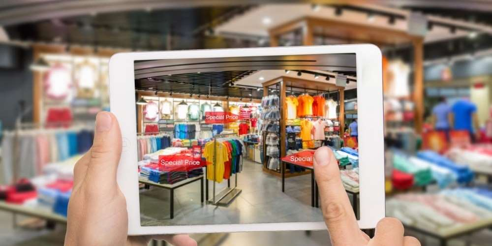 Virtual window shopping for groceries shows mobile innovation